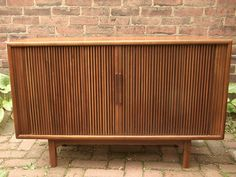 Vintage 1960's Drexel credenza with sliding doors, Mid Century Modern furniture, Bedroom living room furniture, Entertainment center,