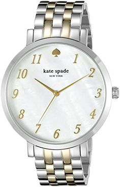 kate spade new york Womens 1YRU0848 Monterey TwoTone Stainless Steel Watch *** Check out this great product.