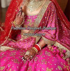 🌺Lehenga Online Designer | Latest Bridal Lehenga | Punjaban Designer Boutique 🌺 👉 📲 CALL US : + 91 - 918054555191 --------------------------------------------------- --------------------------------------------------- #bridallehngacollection #bridallehenga #bridallehengacholi #Bridallehengacollectionludiana #bridallehengadesign #bridallehengacollection2020 #groomSherwani #keepshopping #ethnicfashion #canada #Australia #newzealand #usafashion #italy #brampton #Singapore Wedding Lenghas, Bridal Wedding Dresses, Bridal Outfits, Bridal Style, South Indian Sarees, South Indian Bride, Lehenga Blouse, Lehenga Choli, Heavy Lehenga