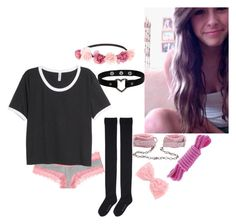 """~ Lately I've Been, I've Been Loosing Sleep, Dreaming About The Things That We Could Be ~"" by beautiful-and-broken-anons ❤ liked on Polyvore featuring мода, Hansel from Basel, Victoria's Secret PINK, H&M, Lake и Charlotte Russe"