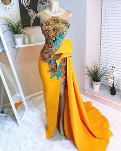 African fashion is available in a wide range of style and design. Whether it is men African fashion or women African fashion, you will notice. African Wedding Dress, African Print Dresses, African Print Fashion, African Fashion Dresses, African Dress, Dress Wedding, Africa Fashion, Ankara Dress, Wedding Attire