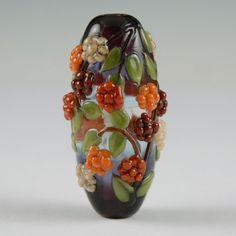 Berry Harvest Glass Focal Bead van NorthFireDesigns