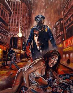 Maniac Cop by Rick-Melton on DeviantArt Horror Posters, Horror Icons, Horror Films, Movie Posters, Arte Horror, Horror Art, Dark Fantasy Art, Dark Art, Maniac Cop