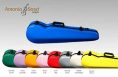 Contoured Fiberglass Color Violin Case- Blue by Core. $180.00. Protect your instrument in style with these colorful cases! This case offers a strong fiberglass shell to protect your violin from the elements as well as offer rugged strength even during travel, The interior is well-padded to cushion your instrument on the go. A zippered accessory pocket is housed inside with velcro backing, it sports two bowholders, as well as velcro straps to secure your shoulder rest. Th...