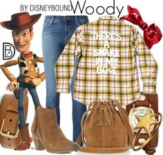 Woody by Disney Bound
