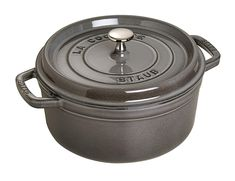 Shop Staub - Graphite Round Cocotte at Peter's of Kensington. View our range of Staub online. Why in the world would you shop anywhere else for Staub? Graphite, How To Cook Chili, Enameled Cast Iron Cookware, Best Chef, Oven Cooking, Cooking Chili, Cooking Light, Cooking Time, Alsace