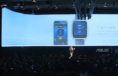 Asus show off the ZenWatch 2 at IFA Berlin #smartwatch #wearables