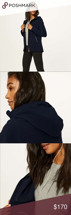 Lululemon rise and shine jacket iii 8 Color is midnight blue  Tags attached lululemon athletica Jackets & Coats