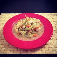 La délicieuse soupe de poisson - Par @Beingeamain