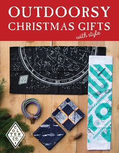 Outdoorsy Christmas gifts with style. Colter Co. carries unique designs for bandanas and tees. Great gifts for the outdoorsy person on your shopping list. Get free shipping with the code: SHIP-IT   http://www.coltercousa.com/