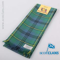 Johnstone Ancient Tartan Scarf. Free worldwide shipping available