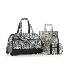 9a5580eda917 $126.55 Two Lumps of Sugar Damask Flip Trolley Bella from The Shopping  Channel. The Shopping Channel · Bags · $89.99 Polo Villae Front-Quilted ...