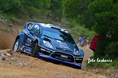 Ford Fiesta Rally car.