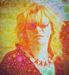 Mystical Woman by Michelle LaRiviere #ipadart #percolatorapp #digitalart #photobasedart #portraits