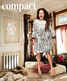 The Kit Compact December 2015  Our Holiday Style issue has all of your festive spirit essentials: a superhero gift guide, gorgeous evening fashion, DIY updos, and how to wear glitter now.