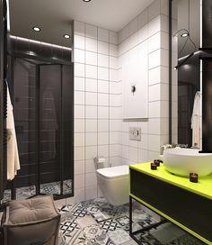 Яркий дизайн квартиры: интересные решения