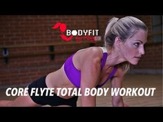 20 Minute Total Body Core Flyte Workout - YouTube