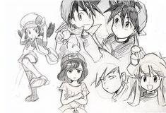 Pokemon Manga, Pokemon Human Characters, Pokemon Alola, Pokemon People, Pokemon Fan Art, Cute Pokemon, Pikachu, Pokemon Adventures Manga, Pokemon Special