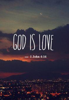 God is L O V E