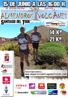 II Trail Run Amendros y Volcanes 2013