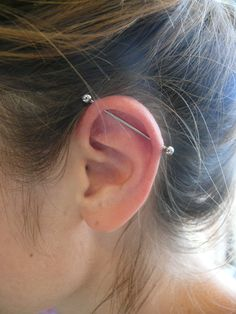 industrial piercing jewelry - Google Search
