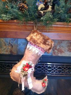 Kimberly's Creative Inspiration: The christmas stocking were hung