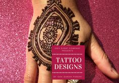 Henna Tattoos is an traditional Indian style henna design book which caters to individuals who enjoy motifs and tattoo style designs. Henna tattoos and henna motifs are a rage currently, and this book is designed for anyone who wants to have fun with henna.