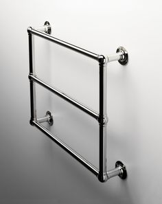 If you want ultimate luxury...get a towel warmer. This one from Waterworks is hard wired, but you can get a plug in model too.
