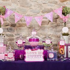 Candy Buffet ideas #CandyBar