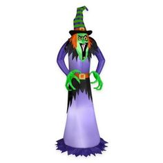 Inflatable Witch