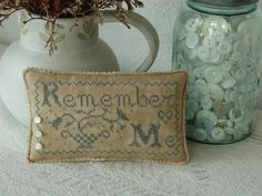 Remember Me - Blackbird Designs