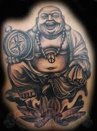 Image result for laughing buddha tattoos