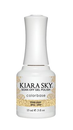 Kiara Sky Soak-Off  UV Gel Polish Pixie Dust G554. Our patented formula assures long lasting wear and high-gloss shine that resists fading and color changes over time. The only gel polish in the market that can be applied as a three or two-step system. Yes, you heard it right base coat application is completely optional.  Finally every woman has a choice! Perfect over natural nails, overlays and pedicures. Cure 30 seconds under LED lamp or 2 minutes under UV lamp. Removes quickly and…