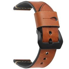 275a25f8e8a EACHE 20 watchband straps Crazy Horse Genuine Leather men Watchband with  Handmade for samsung gear men s watch