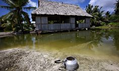The people of Kiribati, a group of islands in the Pacific ocean particularly exposed to climate change, now own a possible refuge elsewhere. President Anote Tong has recently finalised the purchase of 20 sq km on Vanua Levu, one of the Fiji islands, about 2,000km away.