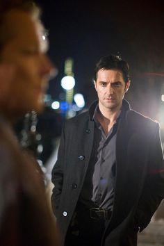 """Richard Armitage as for Panthere.  """"Of all the men in this world, Tasha, I'm the one you should always count on to be late."""""""