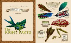 Watch. Connect. Read.: Have you read Kate Samworth's Aviary Wonders Inc. Spring Catalog and Instruction Manual?