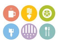 Dribbble - Icons by Nathan Bilancio #icon  #badge
