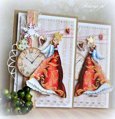 Świąteczne kartki ręcznie robione