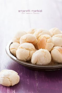 Soft and chewy Amaretti Morbidi Cookies, just like they make in Italy!