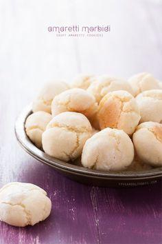 Amaretti Morbidi (Soft Amaretti Cookies)