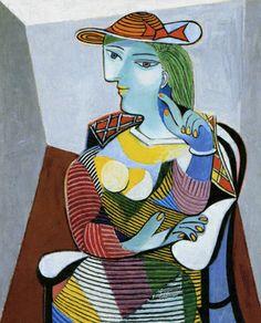 パブロ・ピカソ「マリー・テレーズの肖像」