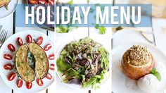 3-Course Vegan Holiday Menu