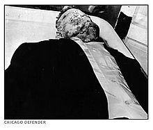 August 28, 1955 – Emmett Till is killed in Money, Mississippi. Till's mother insisted on an open casket. Images printed in black publications The Chicago Defender and Jet magazine of Till made international news and directed attention to the rights of the blacks in the U.S. South.