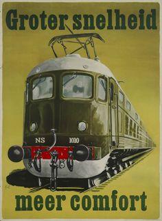 Locomotora eléctrica 1010, de NS (Nederlandsche Spoorwegen), Holanda