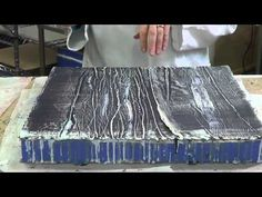▶ 3-Encaustic: accretion - YouTube - Interesting technique - almost like dry brushing