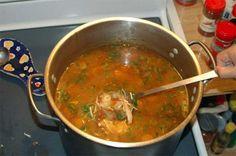 Carrabba's Spicy Sicilian Chicken Soup