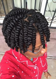 For women with afro-textured hair, natural curls are a blessing but also a responsibility. In comparison to straight or wavy hair textures, natural afro hair ne Protective Hairstyles For Natural Hair, Natural Hair Twists, Braided Hairstyles, Black Hairstyles, Ladies Hairstyles, Short Twist Hairstyles, Beautiful Hairstyles, Trendy Hairstyles, Medium Length Natural Hairstyles