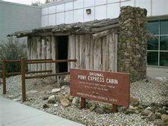 Pony express cabin Elko