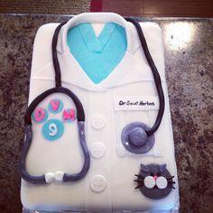 """My """"future Vet"""" cake"""